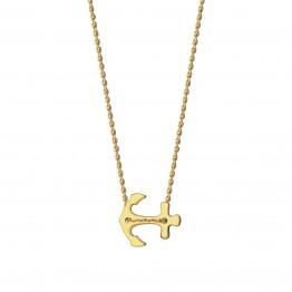 Naszyjnik kotwica ze złota 9ky