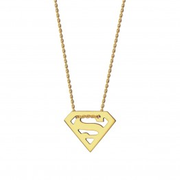 Naszyjnik Superwoman ze złota 9 karat