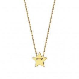 Naszyjnik z gwiazdką ze złota 14 karat