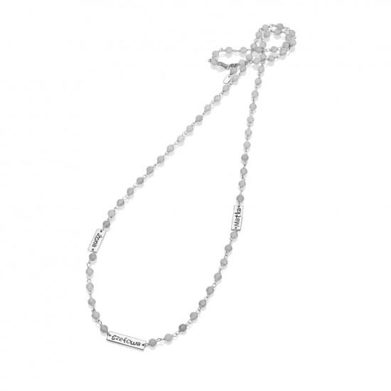 Naszyjnik srebrny kolekcja LUX model LCS004