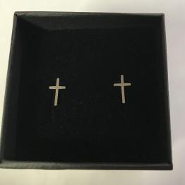 Kolczyki mini krzyżyki