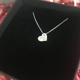 Naszyjnik mini serce