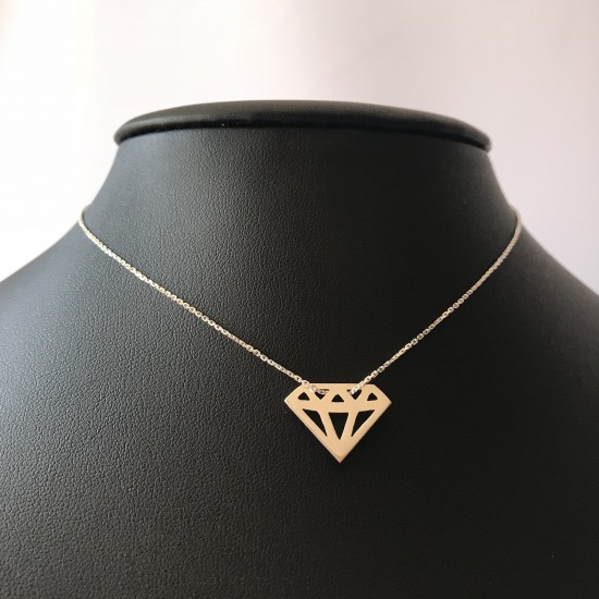 Naszyjnik Diament srebro 925
