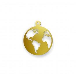 Zawieszka mini world ze złota 9ky