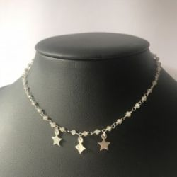 Naszyjnik choker luxury three star