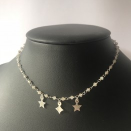 Naszyjnik choker luxury three star