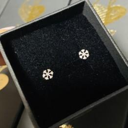 Kolczyki Śnieżynki 925 Srebro