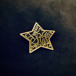 Broszka Duża Gwiazda