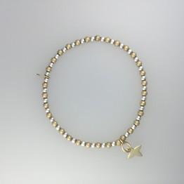 Bransoletka GOLD001 lilijka