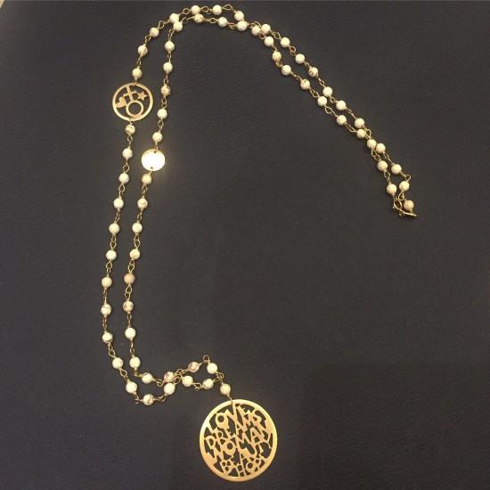 Naszyjnik złoty kolekcja LUX model LCG001