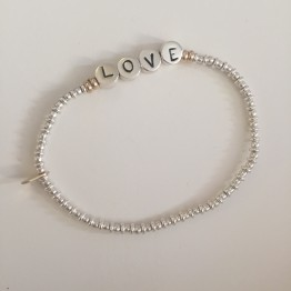 Bransoletka SILVER025 Love