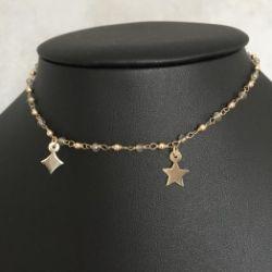 Naszyjnik CHOKER Two star